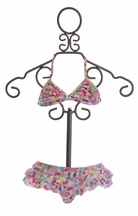 Kate Mack Up Up and Away Ruffle Bikini (4,6,6X,8)