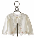 Kate Rose Ivory Lace Bolero Jacket