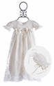 Katie Rose Baby Girls Gown in Ivory Joli