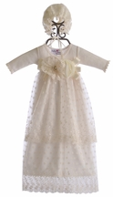 Katie Rose Heirloom Christening Gown for Baby Girls (Newborn & 3Mos)