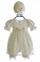 Katie Rose Infant Bloomer Dress Ashley Cream