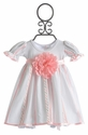 Katie Rose Infant Girls Dress with Flower (Newborn & 3 Mos)