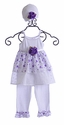 Katie Rose Infant Girls Eyelet Dress with Legging
