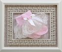 Katie Rose Infant Lace Socks in Pink and Cream