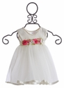 Katie Rose Ivory Baby Girls Dress