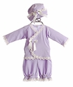Katie Rose Lilac Newborn Take Me Home Outfit with Hat