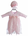 Katie Rose Pink Lace Infant Dress Ashley