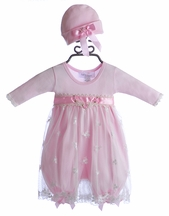 Katie Rose Pink Lace Infant Dress Ashley (Newborn & 9Mos)