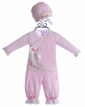 Katie Rose Pink Newborn Take Me Home Outfit