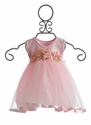 Katie Rose Pink Tulle Infant Dress Sophia Rose