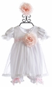 Katie Rose White Baby Dress Special Occasion (Newborn, 3 Mos, 6 Mos)