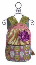 Keep It Gypsy Designer Women's Backpack in Soft Lavender