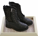 Kensie Girl Shoes Back to School Boot in Black