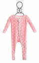 KicKee Pants Baby Girl Footie Pink Polka Dot