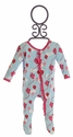 KicKee Pants Baby Girls Ruffle Footie with Kites