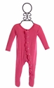 KicKee Pants Bubblegum Pink Infant Girls Footie