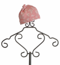 KicKee Pants Butterfly Baby Girls Knot Hat in Pink (Size Preemie)