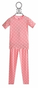 KicKee Pants Girls Pajamas Short Sleeve in Pink Polka Dot