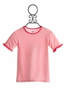KicKee Pants Girls Ruffle Tee in Pink