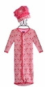 Kickee Pants Infant Girls Baby Sack and Hat in Pink