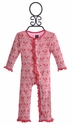 Kickee Pants Infant Romper Pink Snow Bird