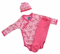 Kickee Pants Newborn Outfit Snow Bird