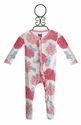 KicKee Pants Peony Infant Girls Romper Footed