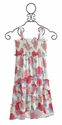 KicKee Pants Peony Print Girls Sun Dress