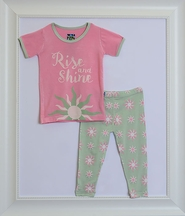 Kickee Pants Rise and Shine Pajama Set