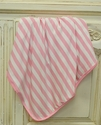 KicKee Pants Swaddle Blanket for Babies in Stripes