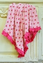 KicKee Pants Watermelon Ruffled Blanket Large