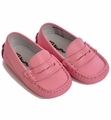 Kone Shoes Leather Moccasin Infant Petal Pink