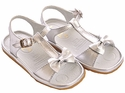 Kone Shoes Little Girls Sandals Silver|Kone Shoes