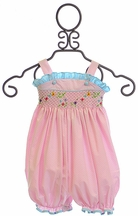 Krewe Infant Girl Bubble Romper (6Mos & 9Mos)