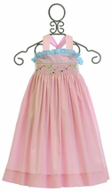 Krewe Sundress for Baby in Pink