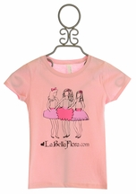 LaBella Flora Limited Edition T-Shirt for Girls