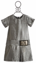 Laundry Kelly Silver Tween Dress with Chain