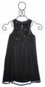 Laundry Tween Black Party Dress with Bow
