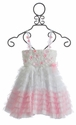 Le Pink Bella Girls Dress