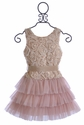 Le Pink Boutique Tween Dress in Pink Rose (7, 12, 14)