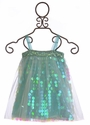 Le Pink Couture Dress for Girls in Aqua