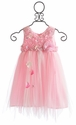 Le Pink Girls Fairy Dress Pink Glam