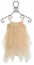 Le Pink Girls Frilly Dress Ruffle Dream (6,7,8,10)