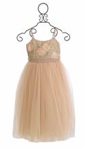 Le Pink Girls Special Occasion Dress in Pink (Size 14)
