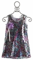 Le Pink Moonlight Tween Party Dress in Purple