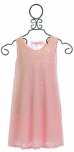 Le Pink Party Dress for Girls in Pink Sequin (2T,3T,4T,4)