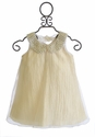 Le Pink Party Dress for Girls Ivory Beauty