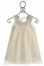 Le Pink Party Dress for Girls Ivory Beauty (6,6X,7)