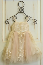 Le Pink Spring 2017 Dress in Champagne PREORDER