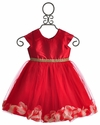 Le Pink Valentina Red Girls Dress